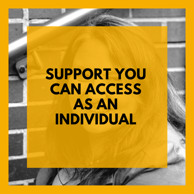 Support you can access as an inidividual (3)